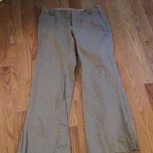 BANANA REPUBLIC SIZE 8 MARTIN FIT TAUPE PANTS